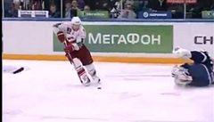 VIDEO: Kiksy Štěpánka i Haška, vítězství slavil gólman Petrohradu