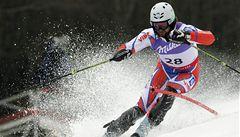 Lyžařské mistrovství je u konce. Trejbal dojel ve slalomu šestnáctý