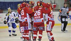 Slavia se o play off utká s Karlovými Vary, Litvínov poměří síly s Plzní