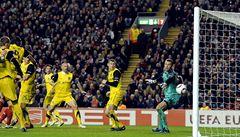 Sparta v pohárové Evropě končí. Liverpool rozhodl až v závěru duelu