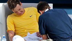 Další komplikace pro Davis Cup? Berdych vzdal semifinále v Dubaji