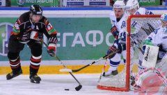 Nepovedený zápas: Jágr nepředčil Rolinka a Omsk prohrál 2:4