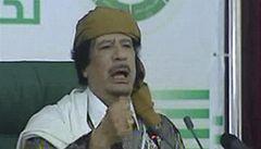 Kaddáfí: Za vším je spiknutí, pokud přijde NATO, tisíce lidí zahynou