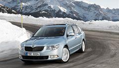 Škoda Auto má zájem dodávat vozy na Hrad i pro Zemana