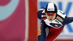 Tečka za sezonou. Šampionka Sáblíková byla devátá na 1 500 metrů