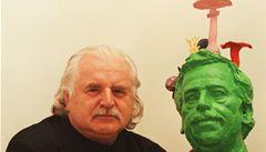Havel 80: Byl jsem první, kdo udělal Havlovi sochařský portrét, řekl Knížák