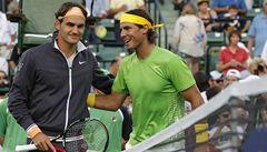 Nadal si pohrál s Federerem. Čeká ho Djokovič
