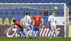Plzeň vede ligu o osm bodů. Ústí rozdrtila 5:0