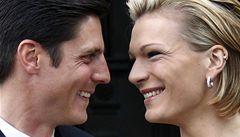 Německá hvězda Rieschová se vdala, Vonnová chyběla