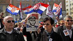'Je to agrese proti Chorvatsku!' demonstrují veteráni