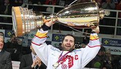 Třinec slaví historický titul v hokejové extralize