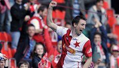 Slavia porazila Slovácko a přiblížila udržení v lize