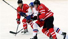 Generálka Čechům nevyšla. Kanada vyhrála 4:2