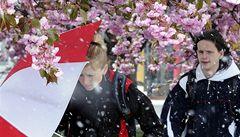 Po jarním počasí se vrátí mrazíky a sníh