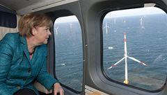 Západ Evropy sází na větrnou energii na moři