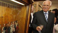 Klaus otevřel expozice na zámku v Lednici