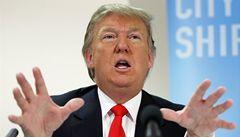 Trump chce za kampaň utratit v přepočtu 50 milionů Kč týdně