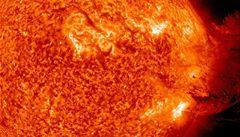 Sluneční cyklus bude nejslabší za 100 let, může zpomalit oteplování