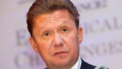 Šéf Gazpromu v Praze oznámil zdražení plynu