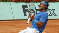 Nadal postoupil do finále Roland Garros