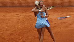Deblistky Hlaváčková s Hradeckou jsou na Roland Garros ve čtvrtfinále