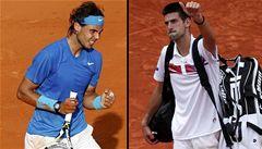 Nadal se ve finále US Open utká s Djokovičem