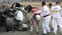 VIDEO: Dvě děsivé havárie poznamenaly Le Mans