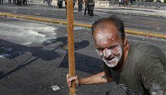 Generální stávka v Řecku ve znamení násilí