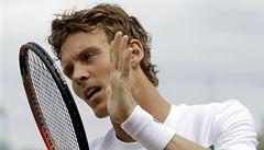 Berdych vypadl už v osmifinále Wimbledonu. Kvitová postoupila