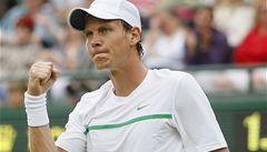 Berdych i Kvitová postoupili  do 3. kola Wimbledonu