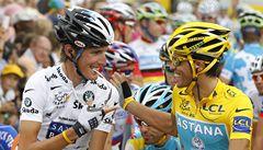 Schleck prosí fanoušky: Potřebuji vás ke zdolání Contadora