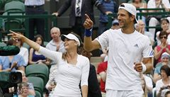 Další český triumf na Wimbledonu: Benešová slaví v mixu