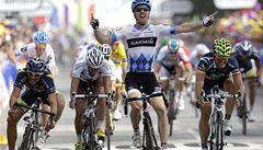 Třetí etapu Tour vyhrál ve Farrar. Schleck spolkl vosu