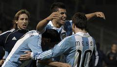 Probuzený Messi režíroval postup Argentiny do čtvrtfinále