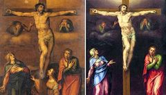 Neznámý obraz Michelangela visel 80 let bez povšimnutí na chodbě