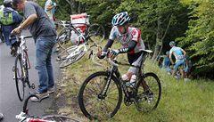 Cyklisté si po prvním týdnu Tour lížou rány