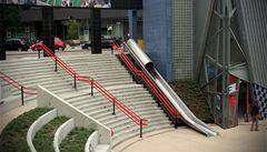 V Holandsku mají na nádraží 'urychlovač přestupu'