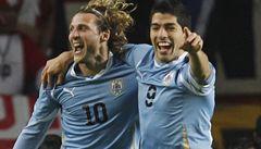 Uruguay je ve finále Copy Amériky. Suárez zneškodnil Peru