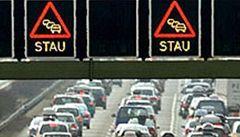 Nejhorší letní víkend na rakouských dálnicích. Celková délka kolon: 200 km
