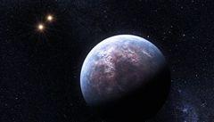 Planeta, ze které bychom viděli tři slunce