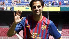 Přestup roku. Fábregas podepsal v Barceloně na 5 let