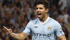 Hvězdný Agüero dal při debutu za City dva góly