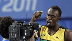 VIDEO: Bolt je po stovce bez medaile. Byl diskvalifikován