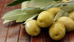 Olivy jako zdroj vitamínů. Máčí se i v čokoládě