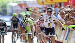 Albasini vyhrál 13. etapu Vuelty jako nejrychlejší uprchlík