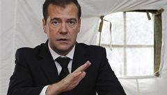 Medveděv: V Rusku už revoluce nebudou, příděl se vyčerpal
