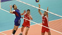 Volejbalisté dominují, v Evropské lize zdolali i Černou Horu
