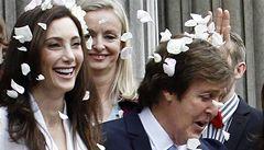 Paul McCartney se v Londýně potřetí oženil