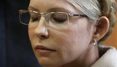 Tymošenková dostala dar k MDŽ. Setkání s rodinou