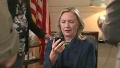 Clintonová zprávě o Kaddáfím příliš nevěřila